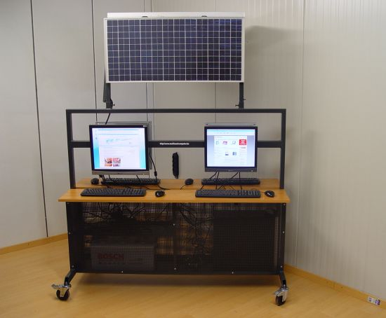 Solar Powered Multiseat Computing Now Computer Goes