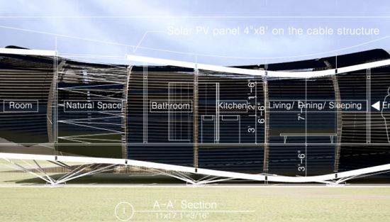 solar house for solar decathlon 2