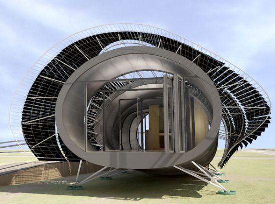 solar house for solar decathlon