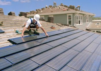 solar panel on house 9