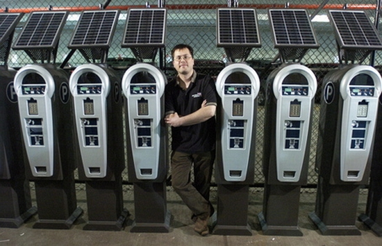 solar parking meterless meters
