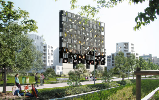 Eco Architecture: Apartment complex by LAN Architects has a ...