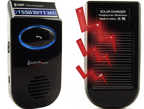 solar powered bluetooth handsfree 1
