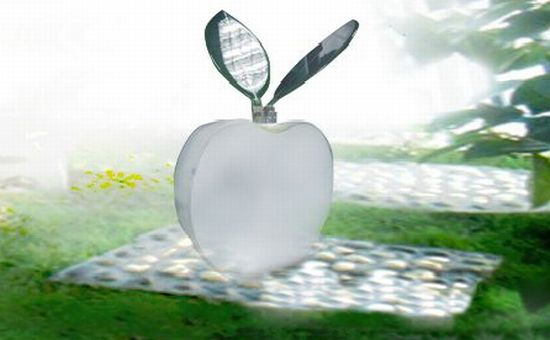 solar powered energy apple tree by greendix 1