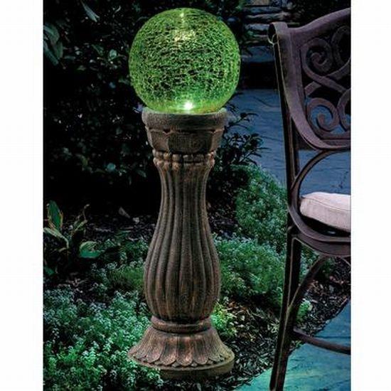 Solar Color Changing Gazing Ball Garden Light