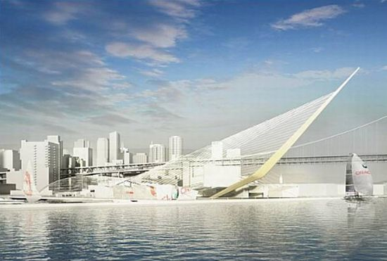 solar powered stadium for americas cup 2