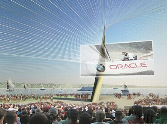 solar powered stadium for americas cup 3
