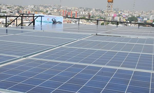 solar powered theater in india 1