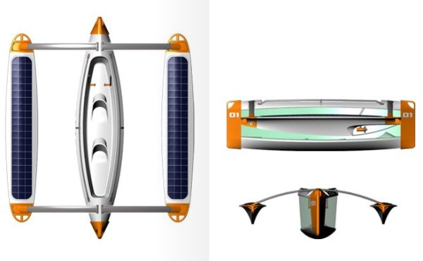 solar powered underwater boat 7