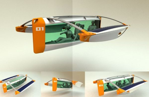 solar powered underwater boat 9