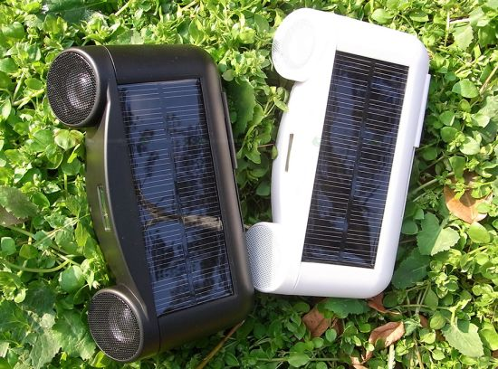 Landports Active Speakers Cheer You Up With Solar Energy Ecofriend