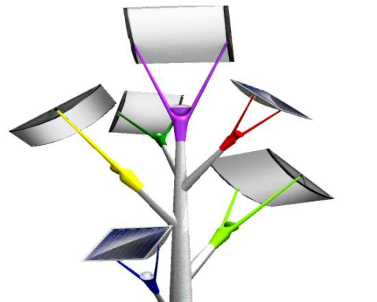 solar tree pulsars by vinaccia integral design 3