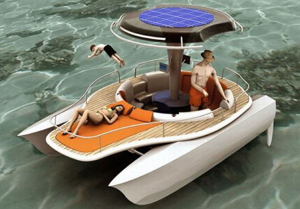 Solar and Human Powered