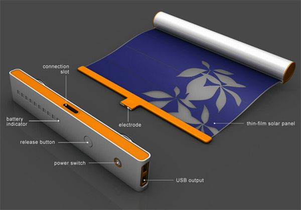 Solar curtains concept