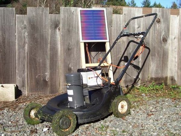 Solar Lawnmower