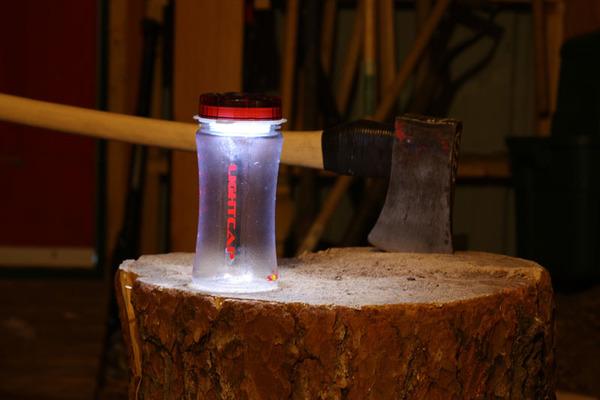 Solar Light in Glass Jar