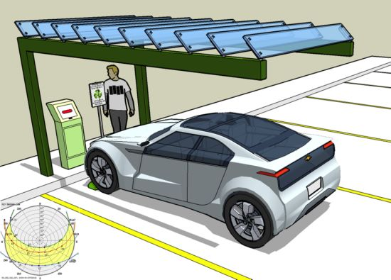 Charging Stations Designed To Refuel Evs With Renewable