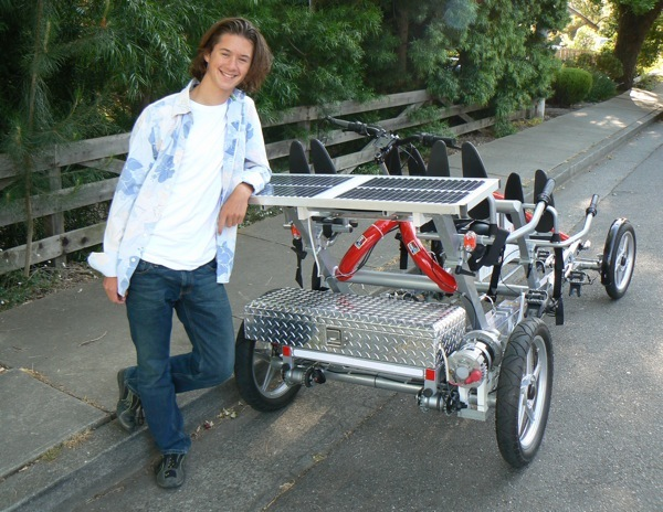 Solar-Powered Bike