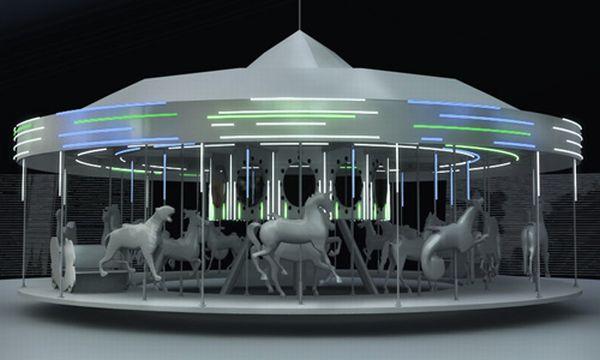 Solar Powered Carousel