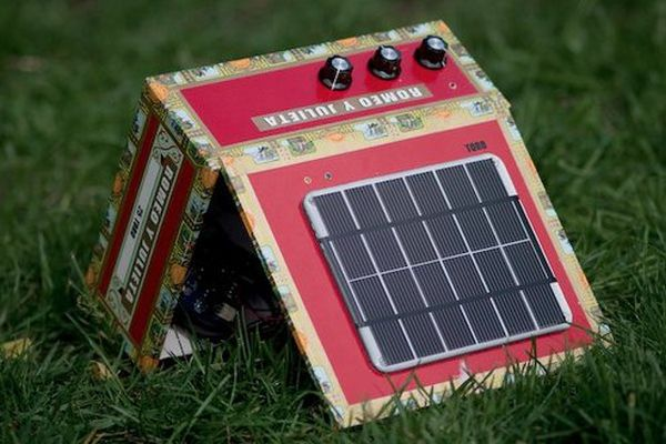 Solar Powered Cigar Box Amp Kit