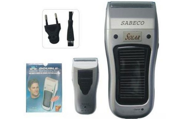Solar Powered Electic Razor