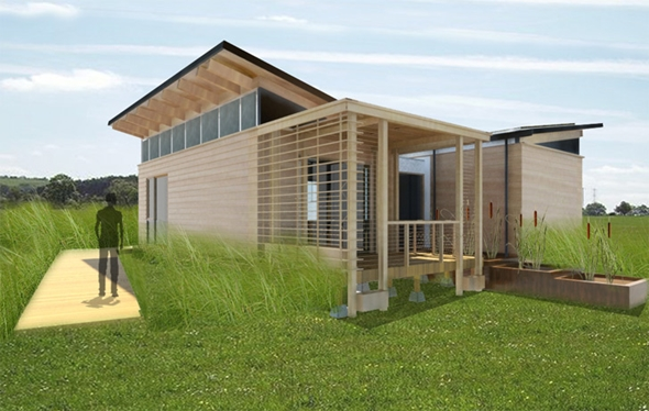 10 Gorgeous Solar Powered Homes Unveiled In 2011 Solar