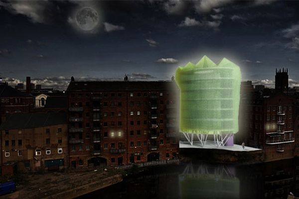 solar-powered office building for Leeds