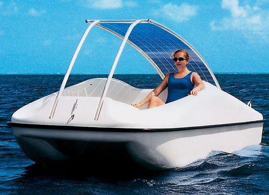 лодка с электродвигателем солнечная батарея