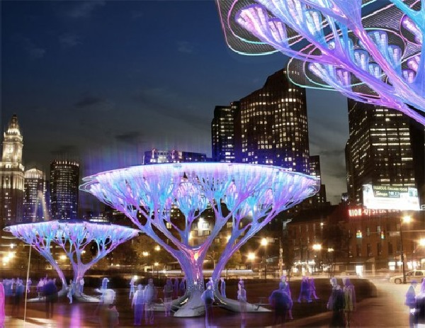 solar tree designs