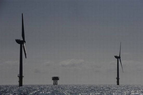 south korea off shore wind farm