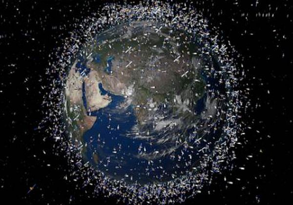 Space Debris Removal pod