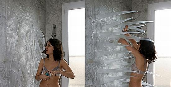 Shower designed for sex
