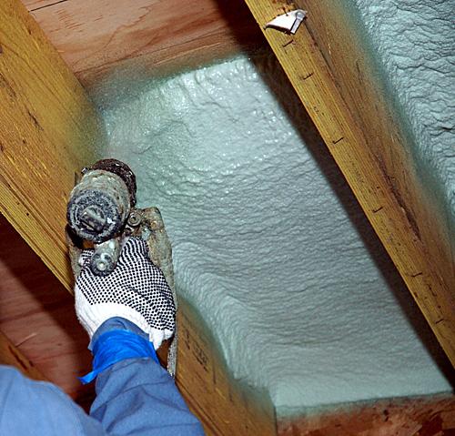 Spray Foam Insulation Process