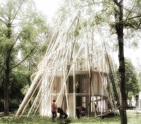 Sticks by Djuric Tardio Architectes