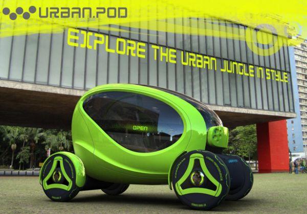 Stylish Urban.Pod Compact Vehicle