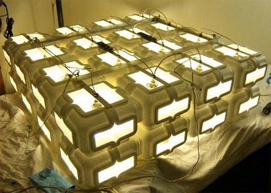 styrofoam chandelier 2 sqmbl 69