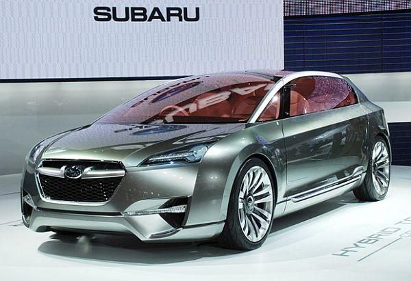 Subaru hybrid car