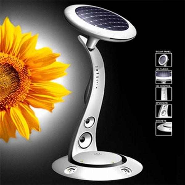 Sunflower solar power station