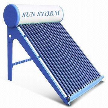 Sunstorm solar water heater.