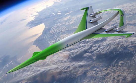 supersonic green machine by nasa and lockheed mart