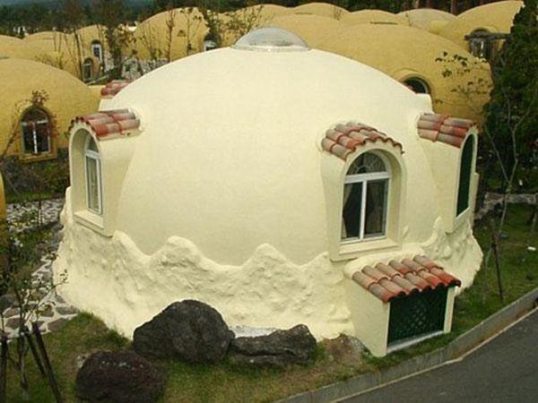Sustainable homes made using styrofoam