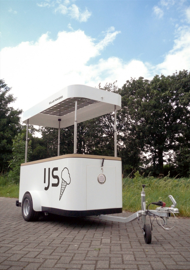 Sustainable Ice Cream Vending Machine