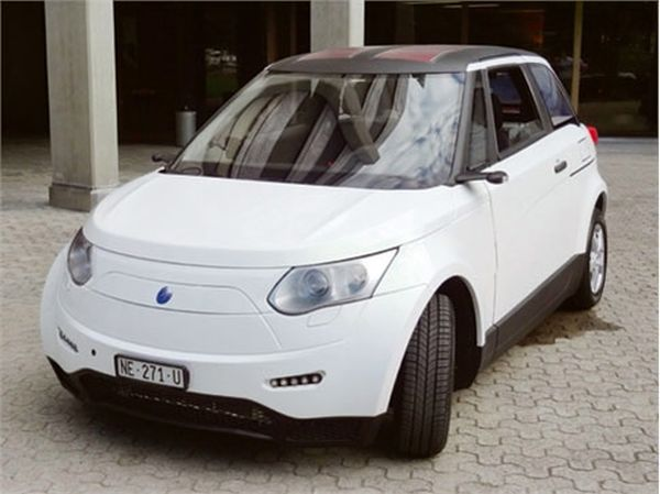 Swatch hydrogen powered car