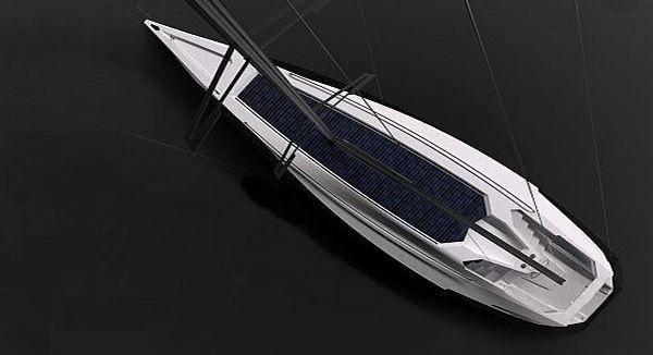 Symmetry solar powered concept yacht