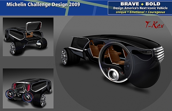 eco cars t rex bio fuel powered car generates solar electricity ecofriend. Black Bedroom Furniture Sets. Home Design Ideas
