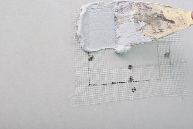 how to put mud on drywall corners