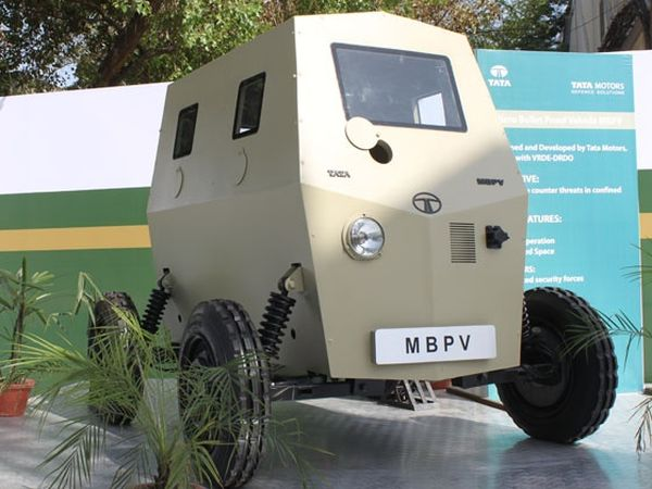 Tata Micro Bullet-Proof Vehicle