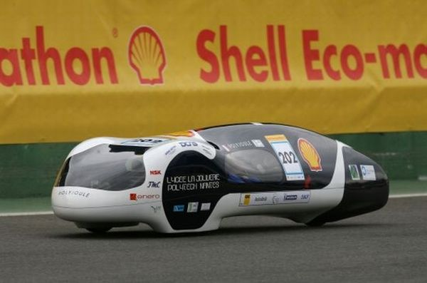 Team Polyjoule's concept vehicle