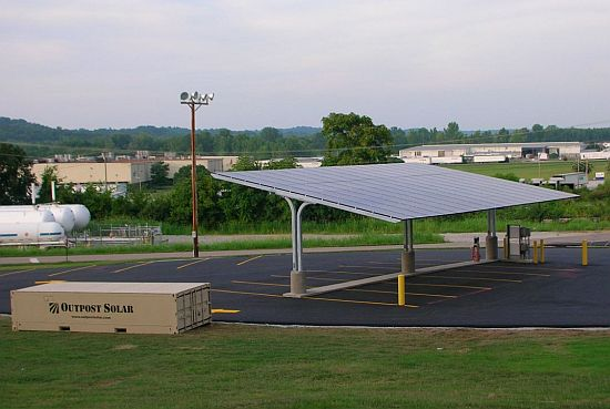 tennessee solar powered parking lot 1