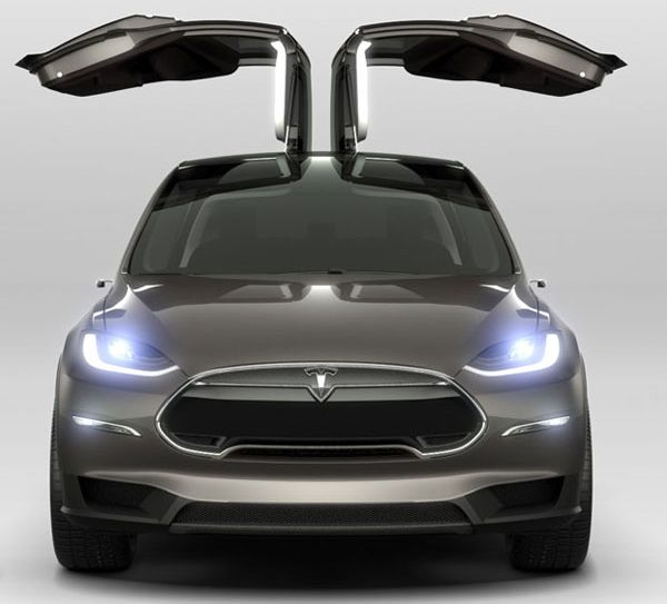 Tesla unveils Model X all-electric SUV